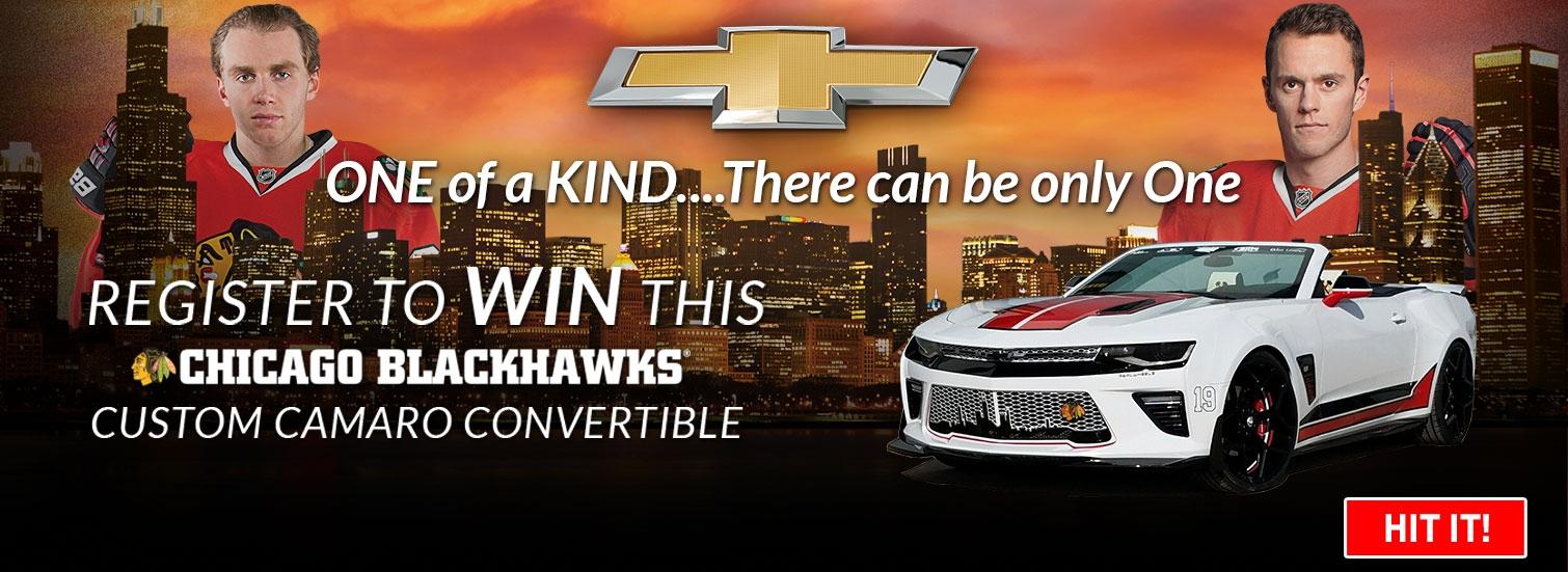 blackhawks camaro contest