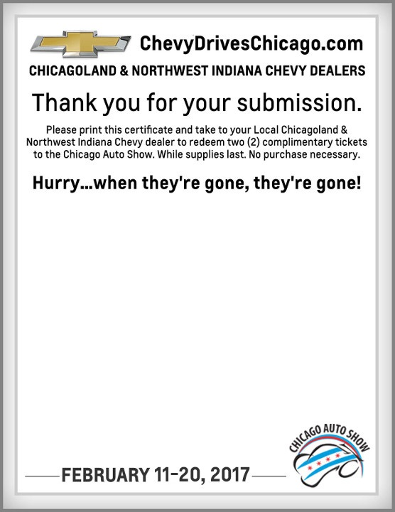 Autoshow Tickets Chicago