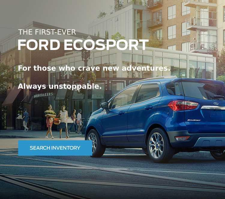 All-New 2018 EcoSport Coastal Ford Vancouver