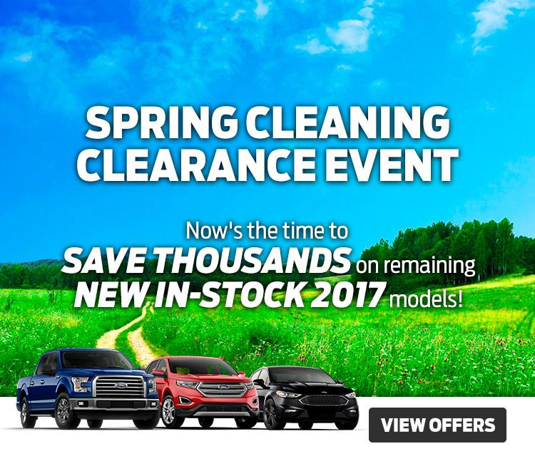 Spring Clearance Event Coastal Ford Vancouver