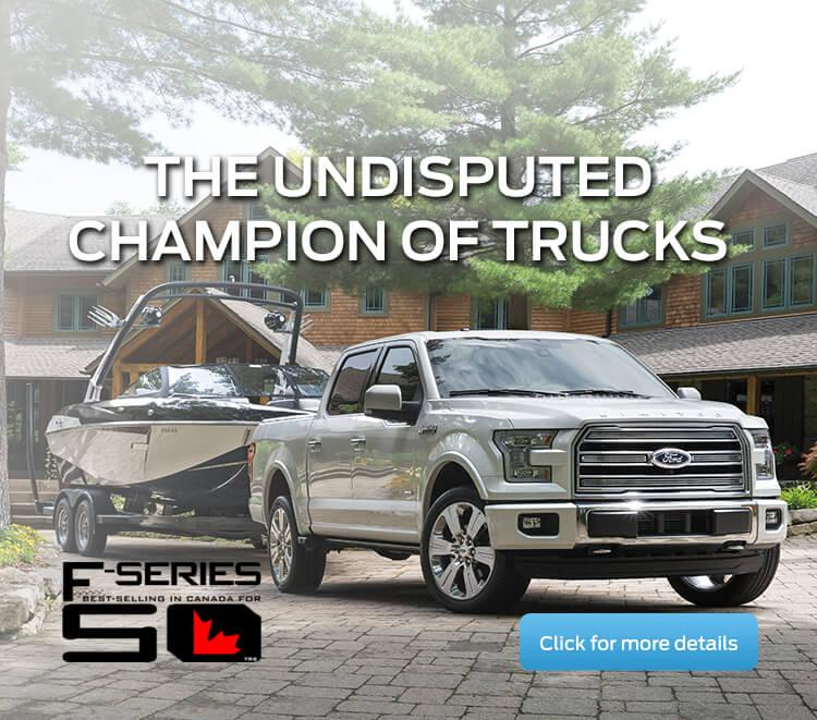 F-150 Undisputed Champion of Trucks at Coastal Ford Vancouver