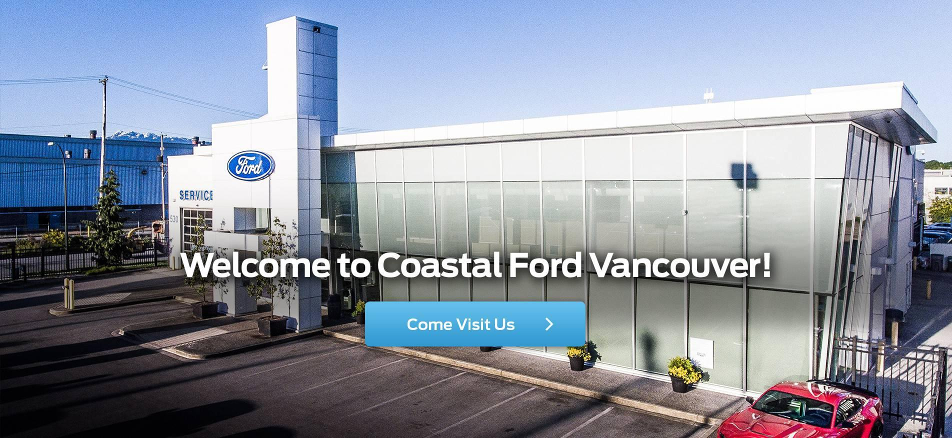 Welcome to Coastal Ford Vancouver!