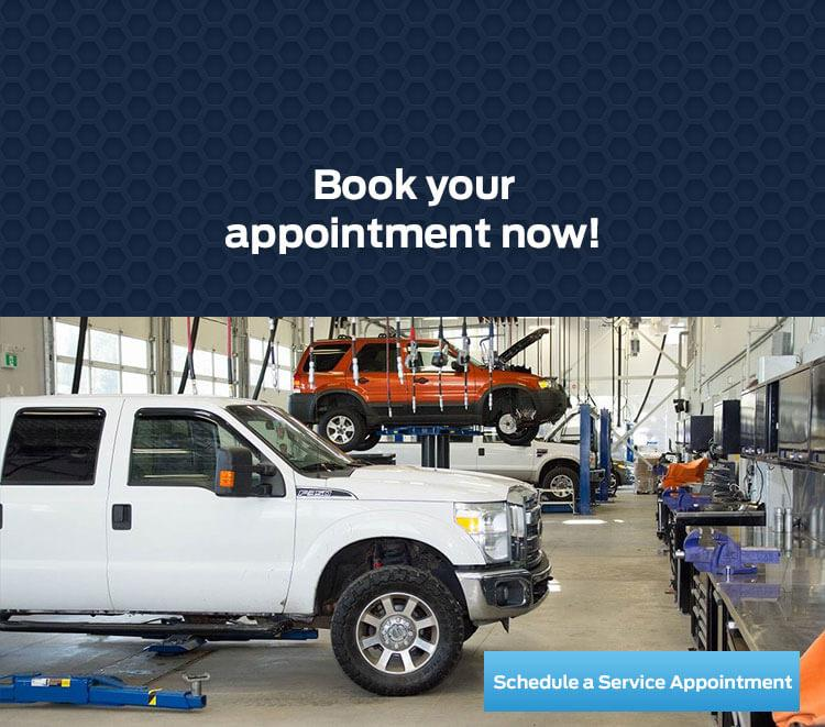 Book your Service appointment at Coastal Ford Vancouver today!