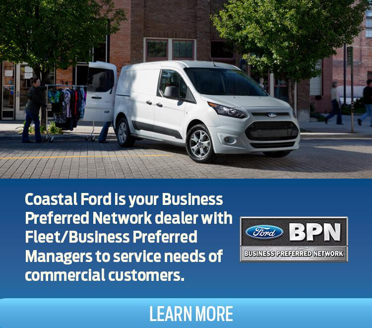 Business Preferred Network at Coastal Ford Vancouver