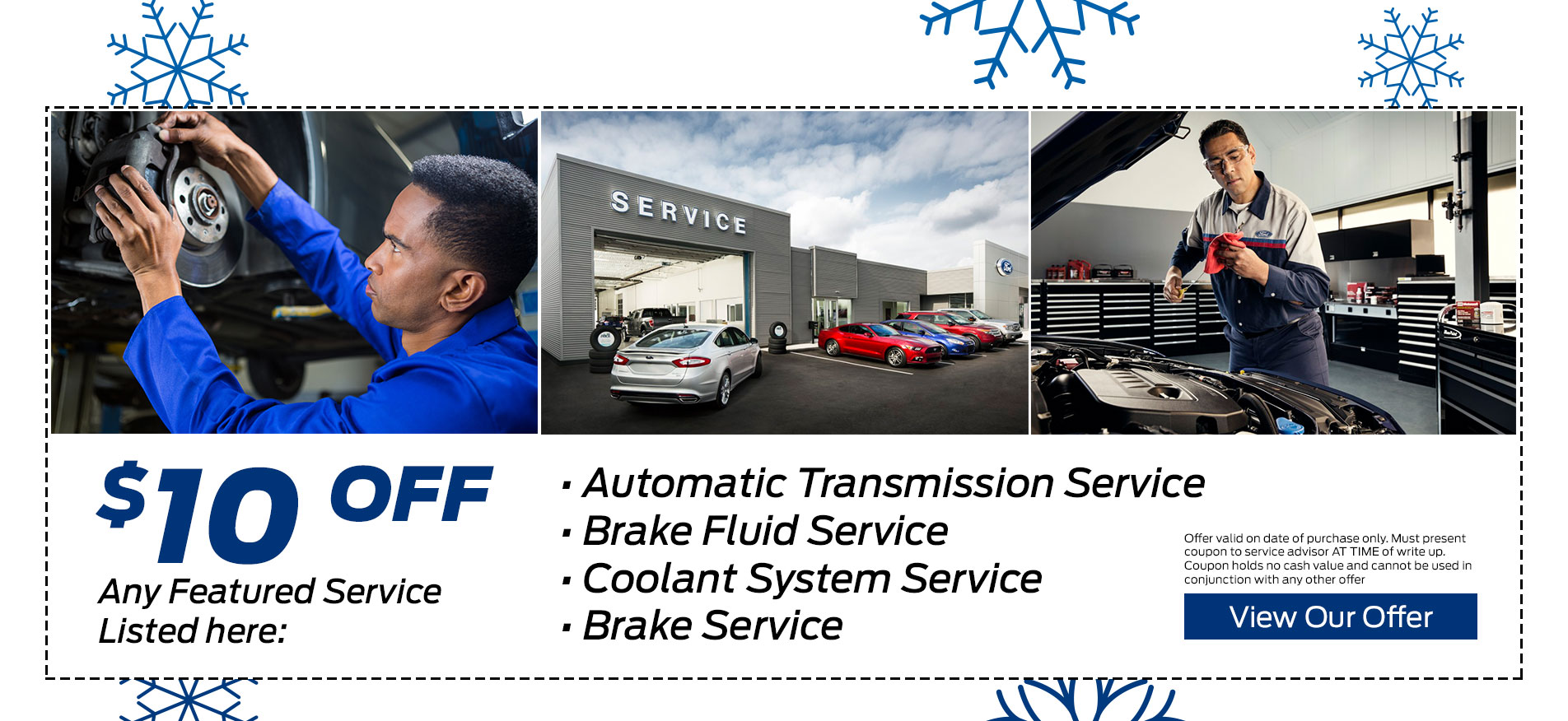 Brant County Ford - Service Coupon