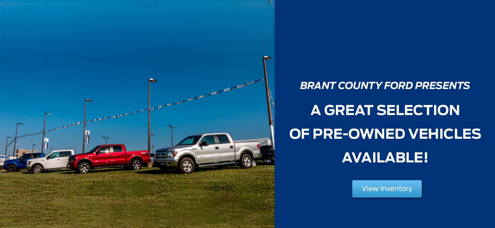 Brant County Ford - Pre-Owned Trucks