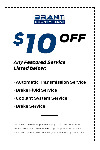 Brant County - Service Coupon