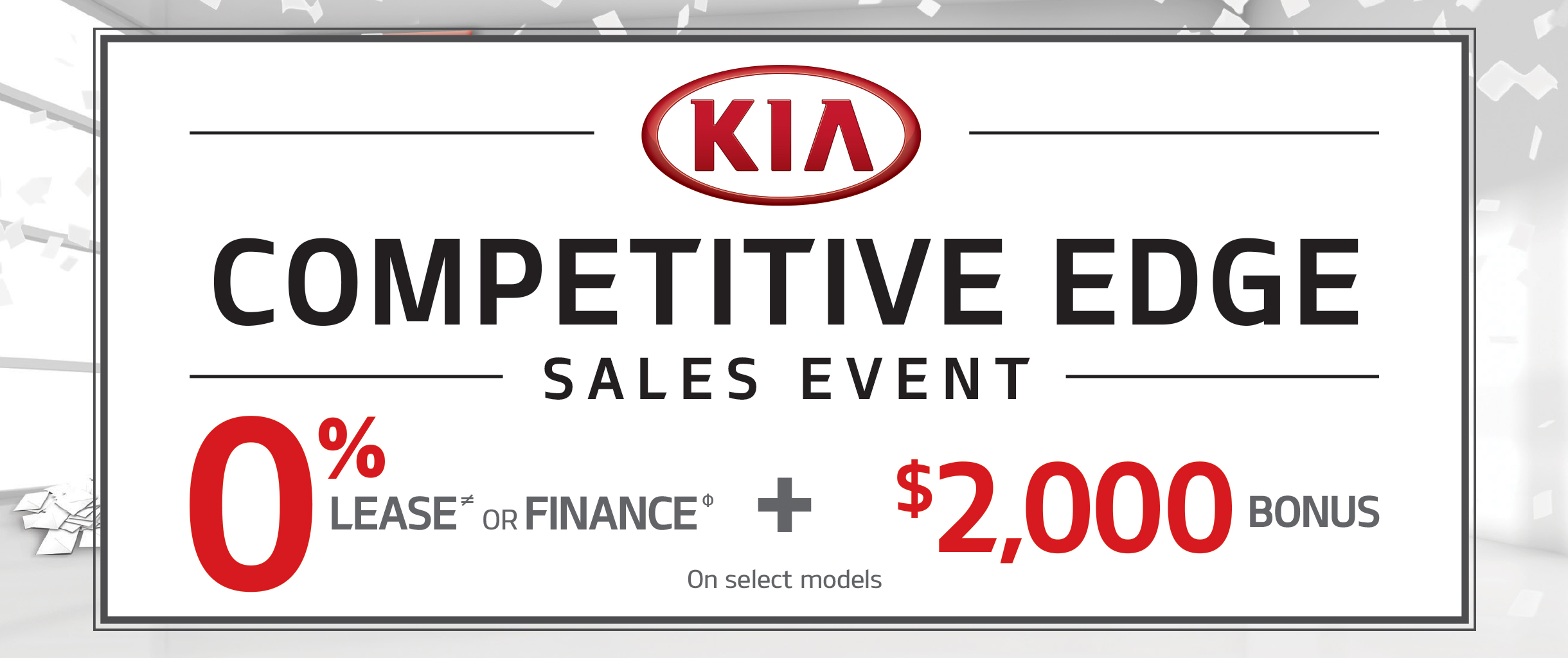 Donnelly Kia - Competitive Edge Sales Event