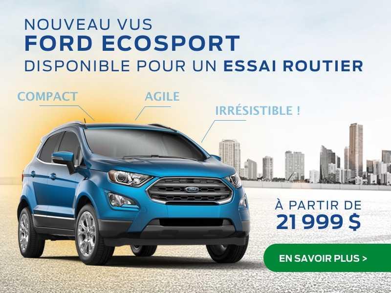 Le nouvel Ecosport