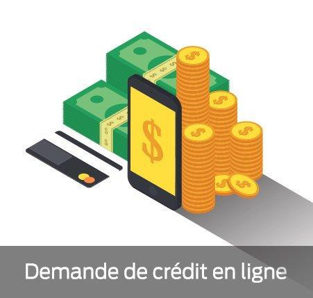 Demande de credit en ligne