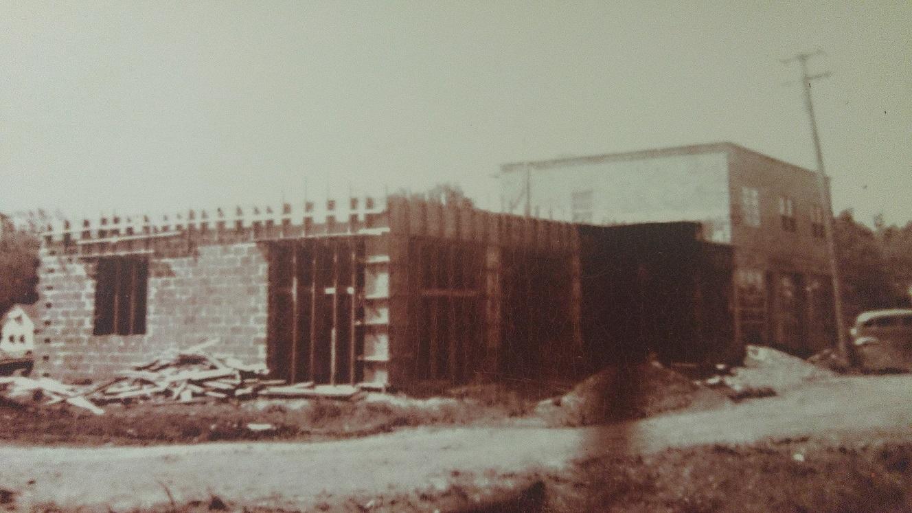 1949 achat du terrain