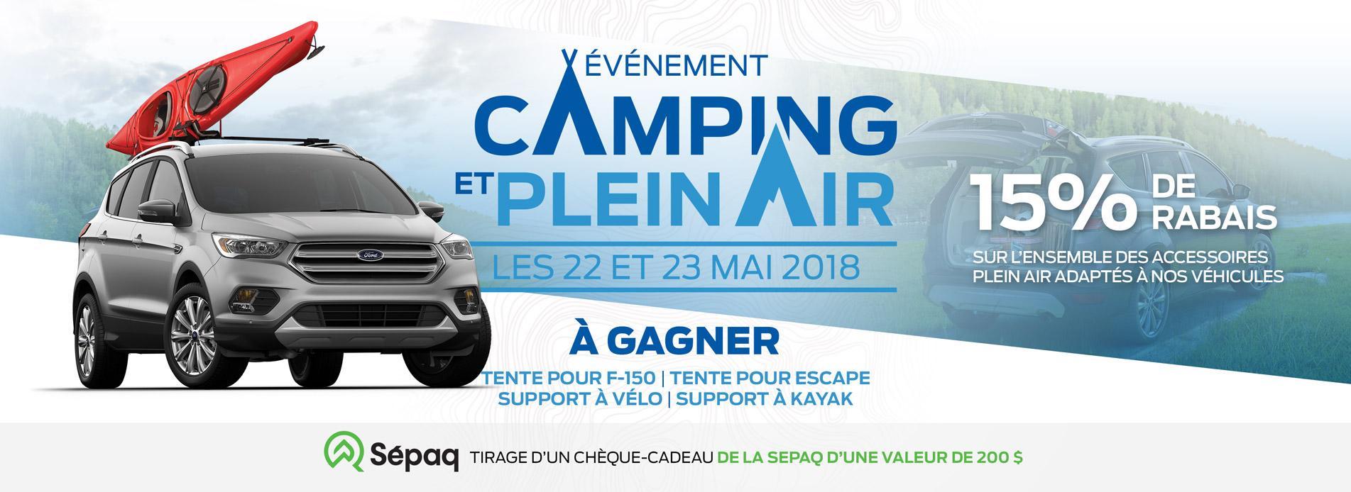 camping et plein air