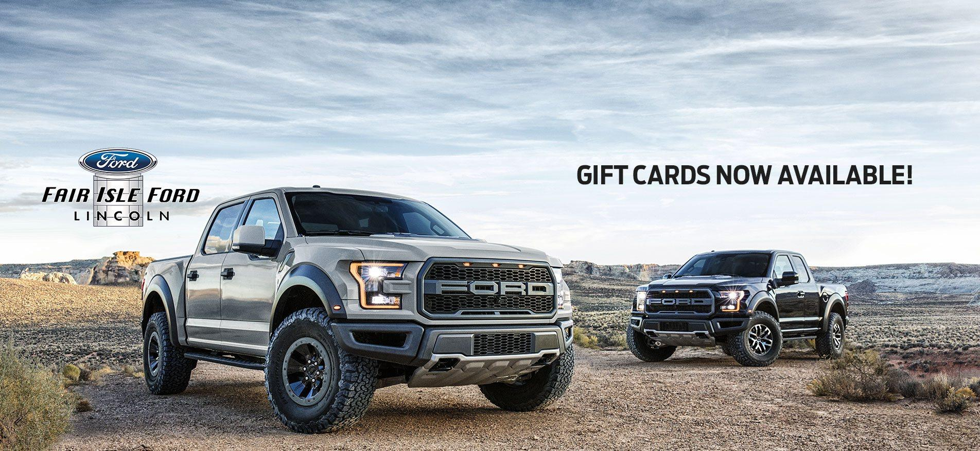 ford gift cards