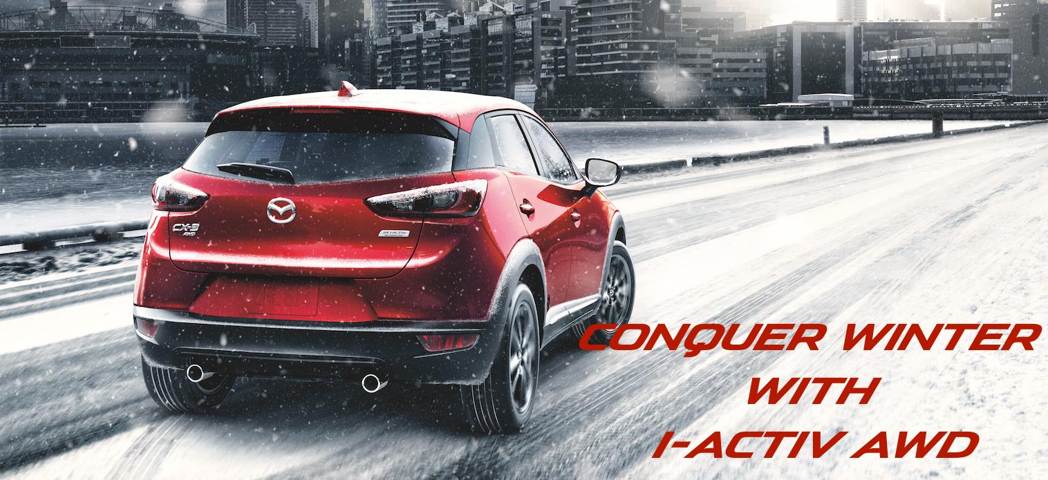 Mazda CX-3, Mazda CX-5, I-Activ AWD