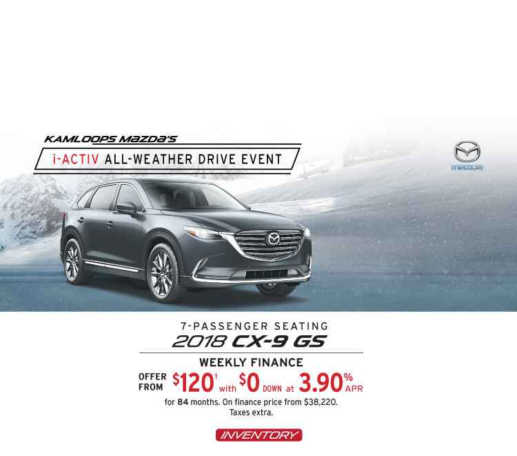 2018 CX-9 Kamloops Mazda