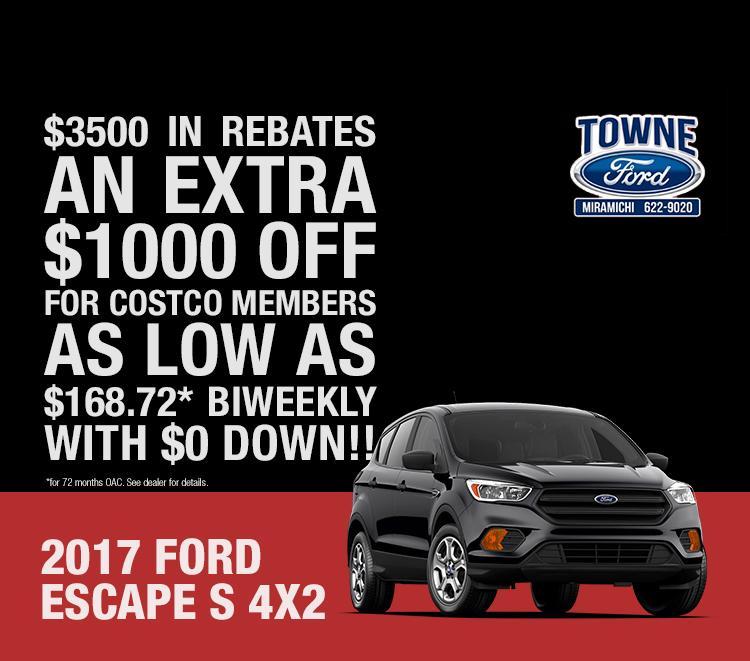 Escape sale Towne Sales and Service