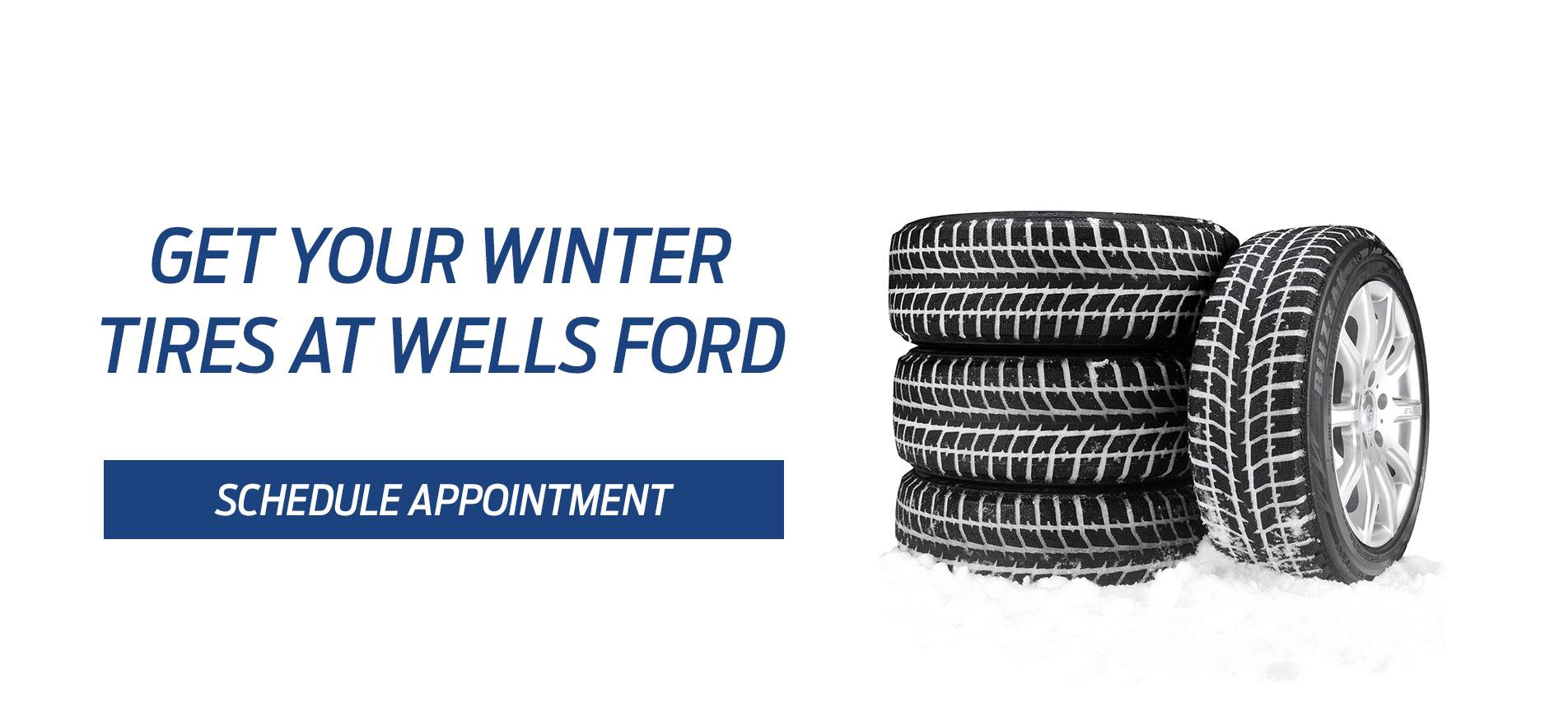 Winter tire service Wells Ford