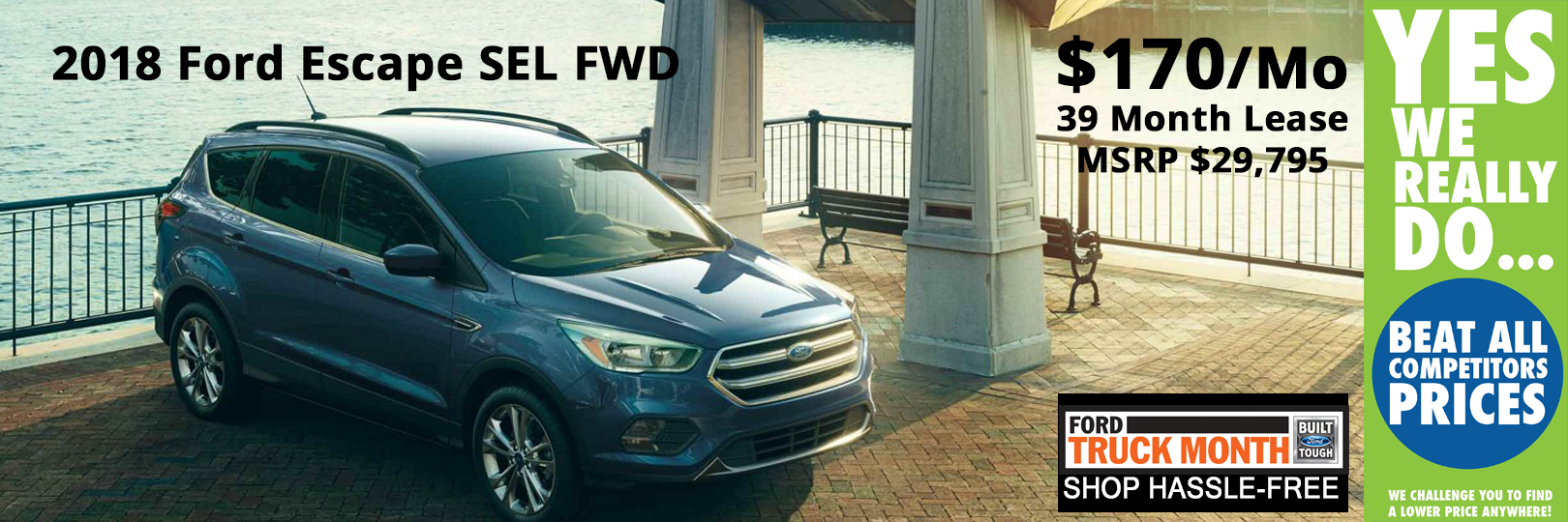 Lansing Ford Escape Lease Special
