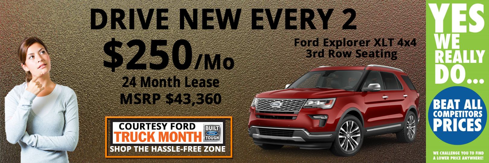 Lansing Ford Explorer Lease Special