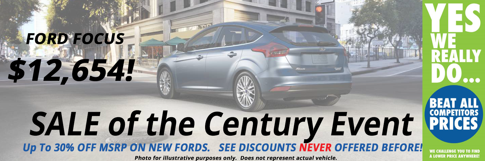 Ford Focus Special Offer