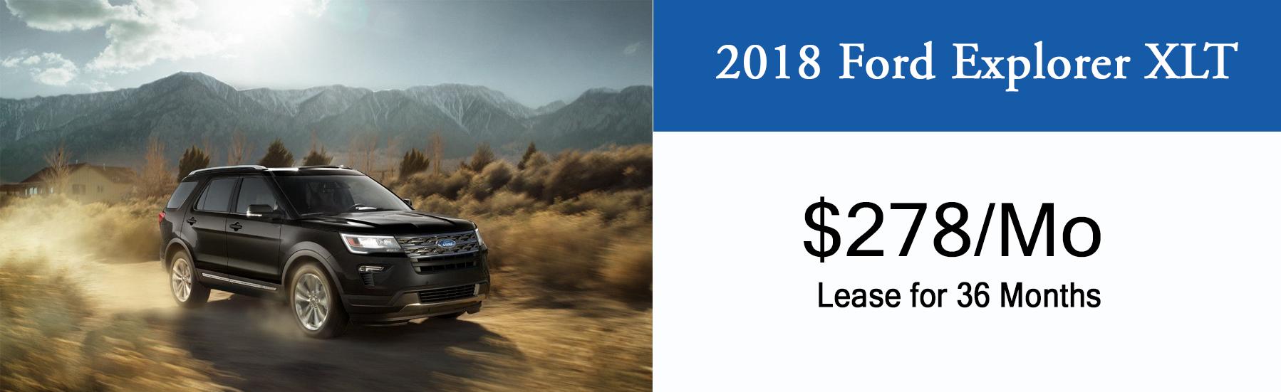 Lansing Ford Explorer Lease Special