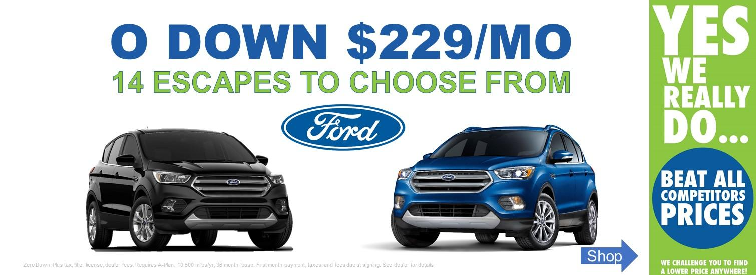 Lansing Ford Escape Lease Specials