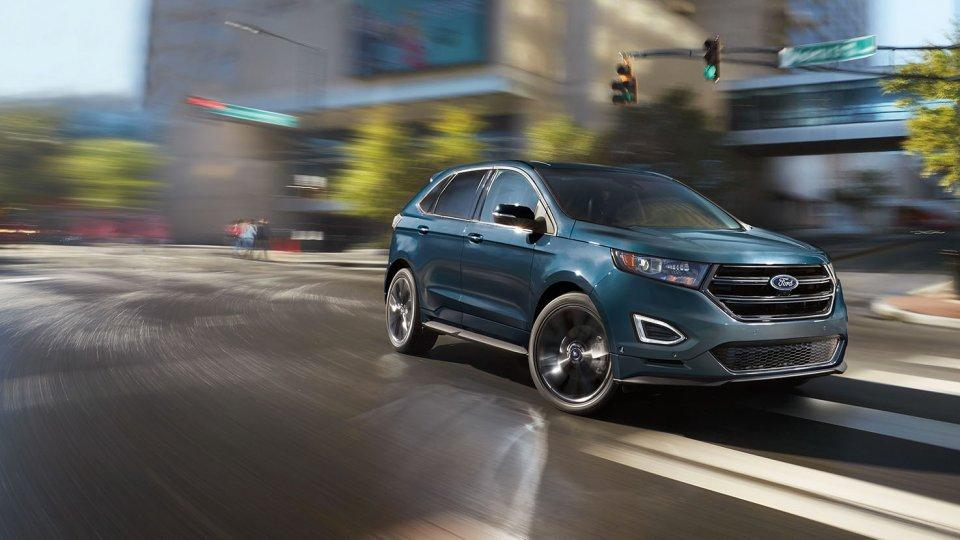 2017 Ford Edge Sport Piano Black Grille Magnetic Accent