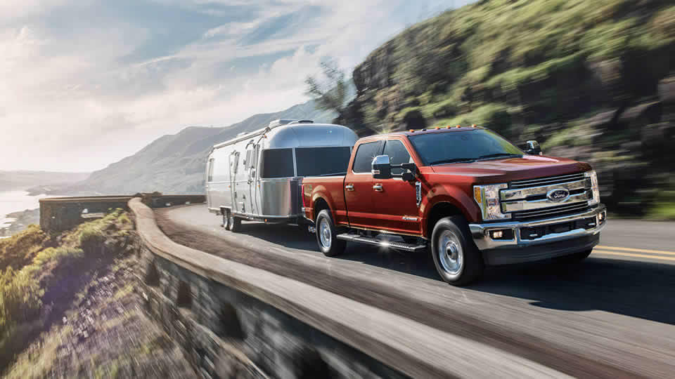2017 Ford F-250 Lariat Red