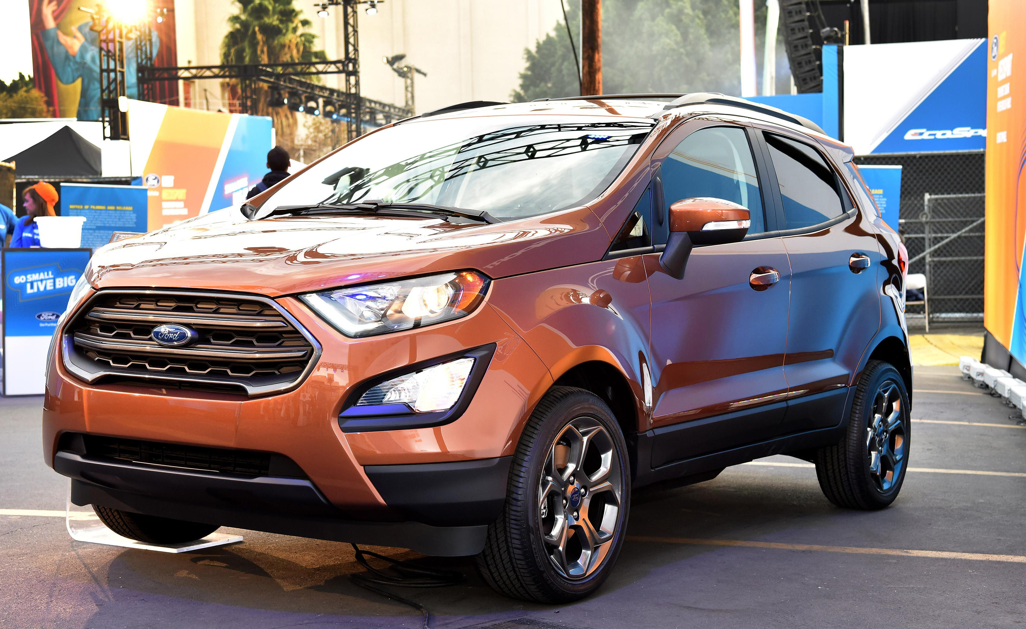 Unboxcing the all-new 2018 Ford EcoSport | Van Isle Ford