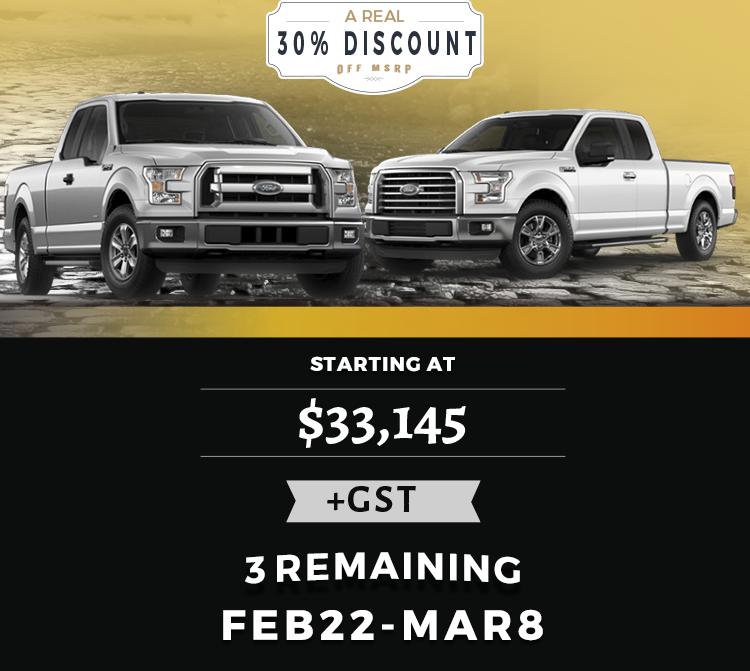 Vegreville Ford f-150 discount