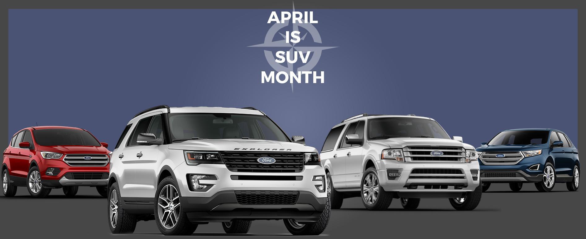 SUV month at Vegreville Ford
