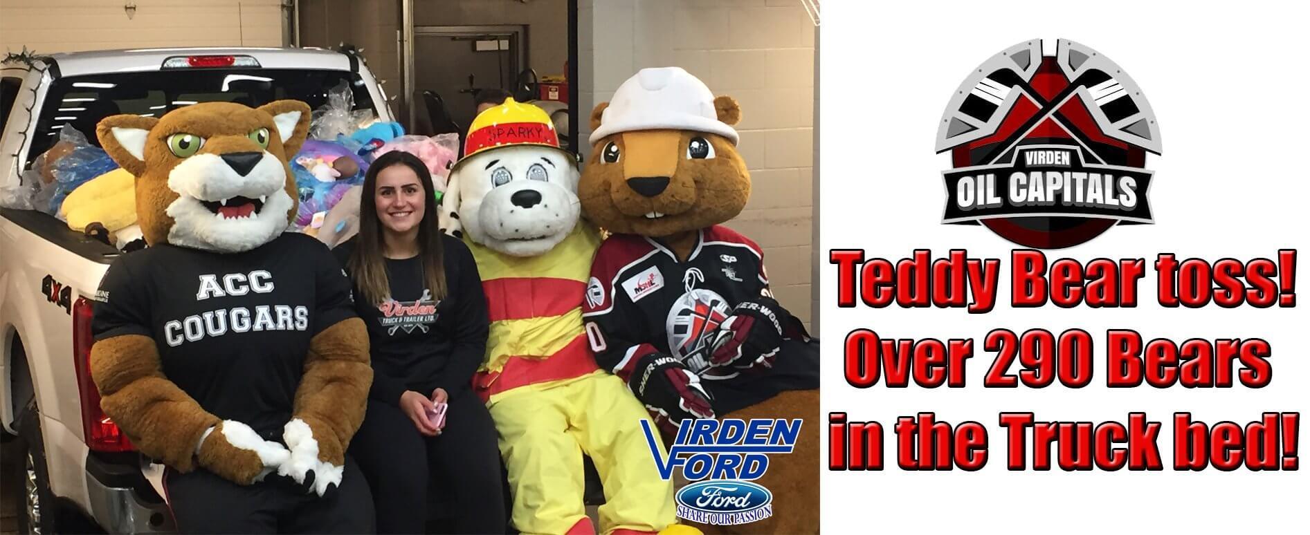 teddy toss