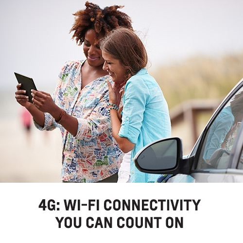 Learn more about Chevy's 4G LTE Wi-Fi vehicles