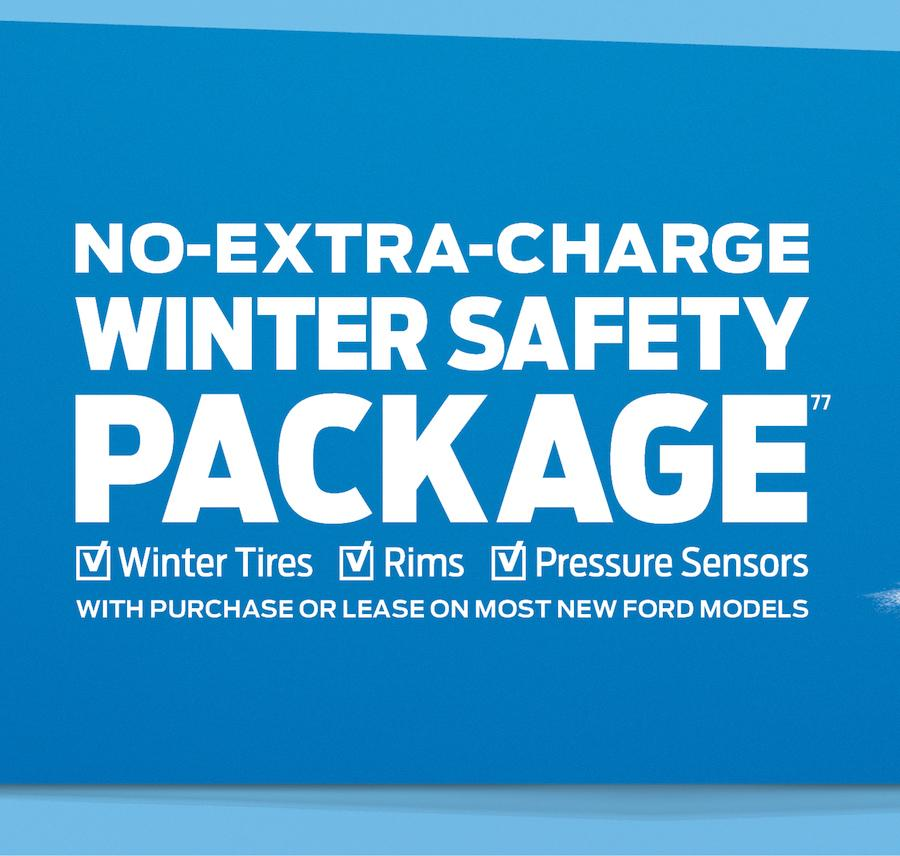 No-Extra Charge Winter Safety Package