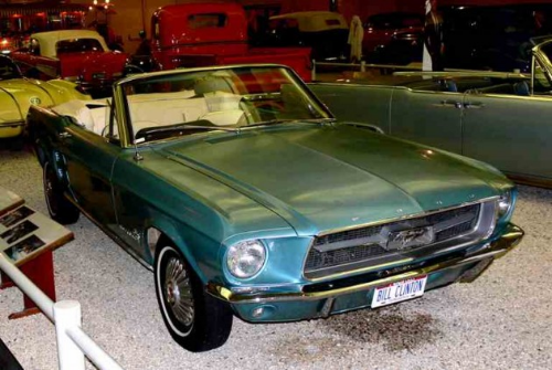 Bill Clinton Ford Mustang Convertible