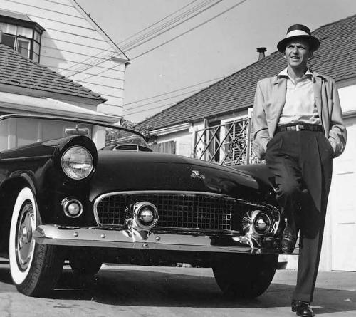 Frank Sinatra Ford Thunderbird