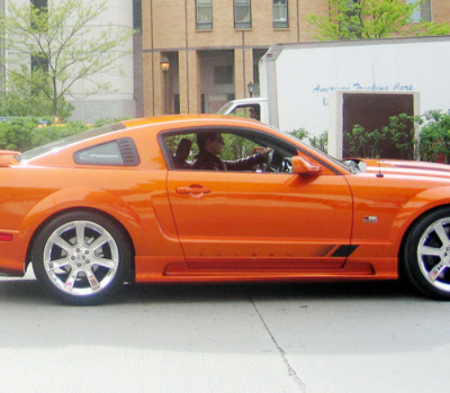 Tom Cruise Ford Mustang Saleen