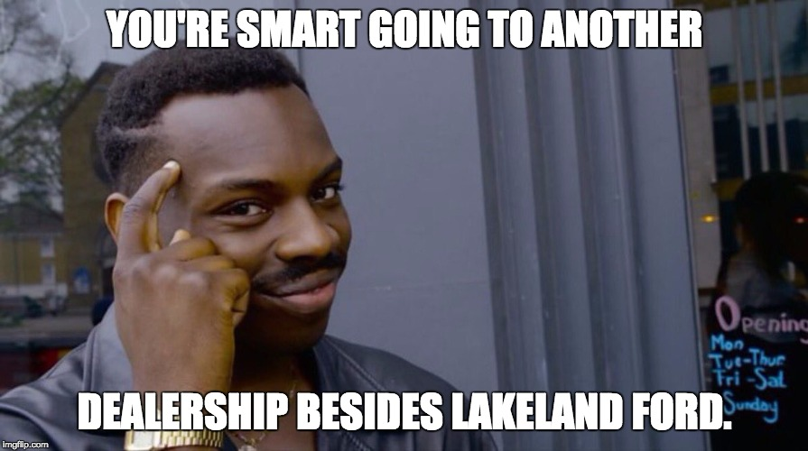 you're smart