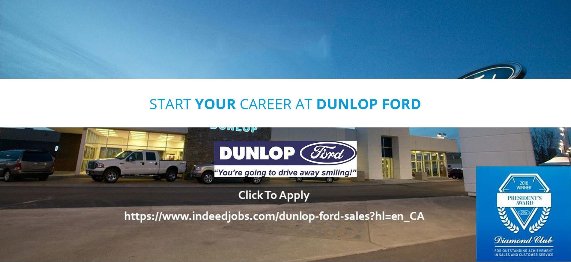 Dunlop Ford employment
