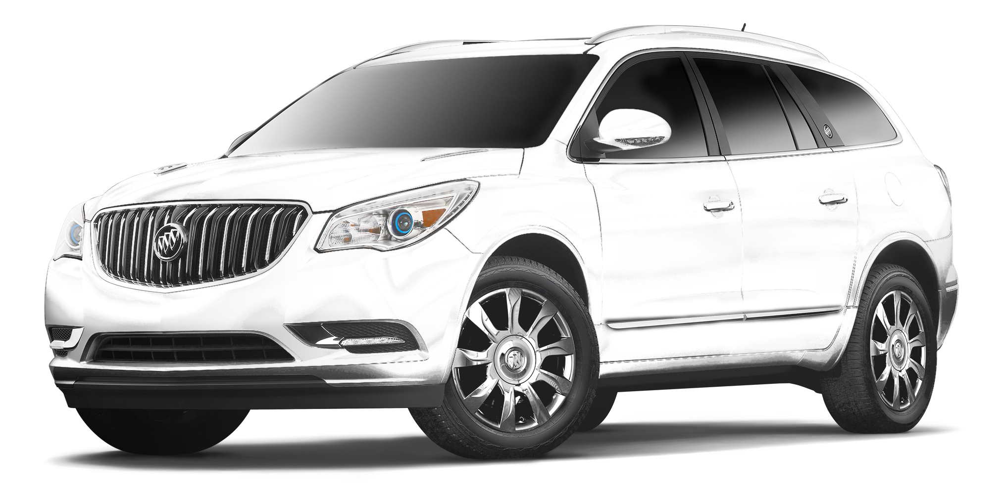 2017Buick Enclave Summit White
