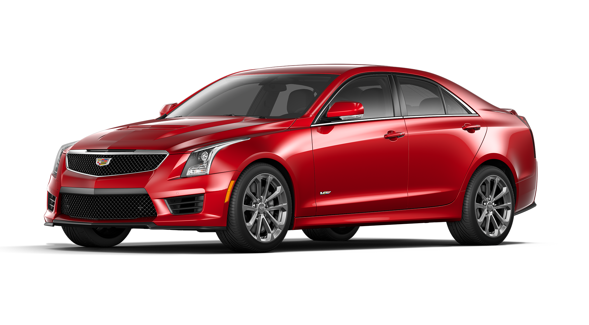Cadillac ATS-V Red Obsession