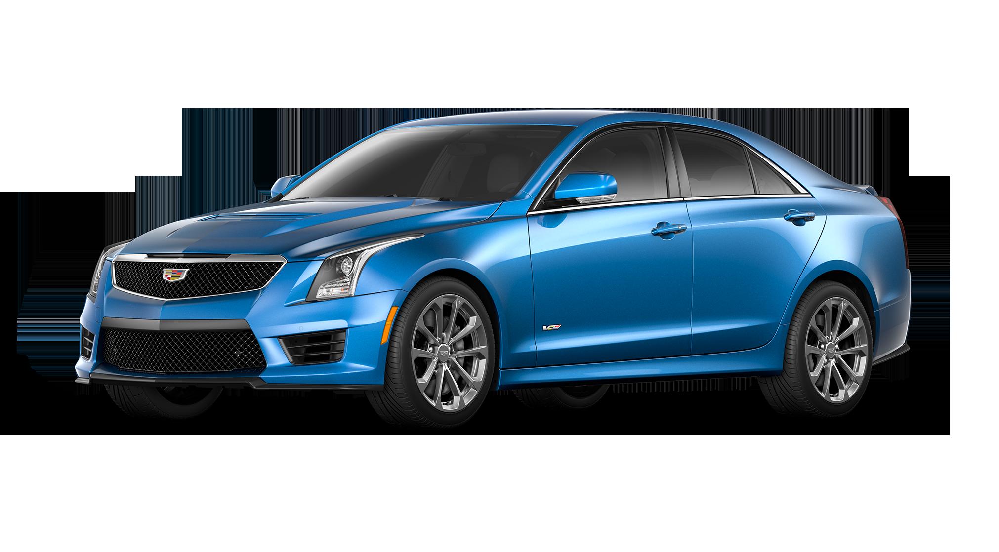 Cadillac ATS V Blue