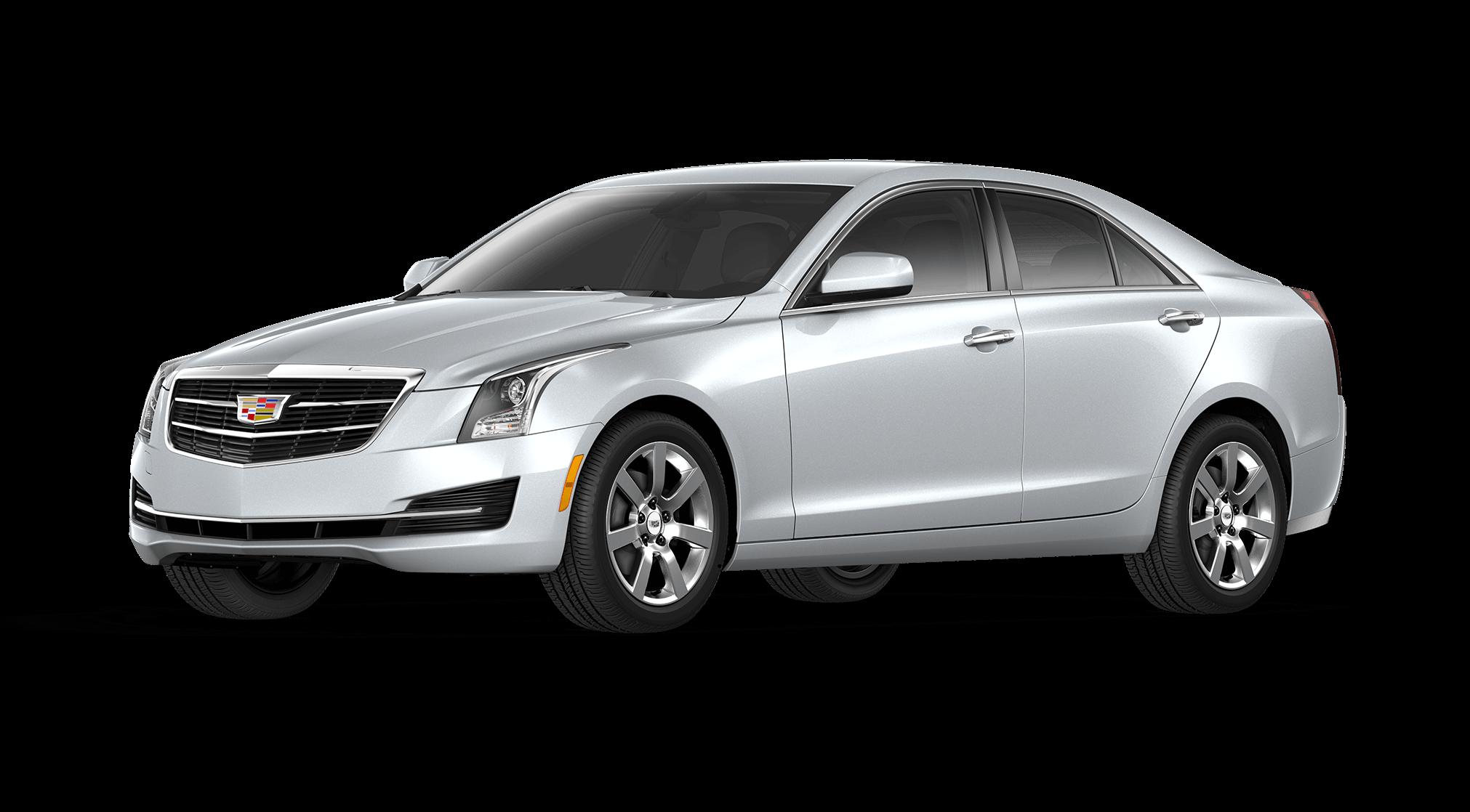 Silver Cadillac ATS