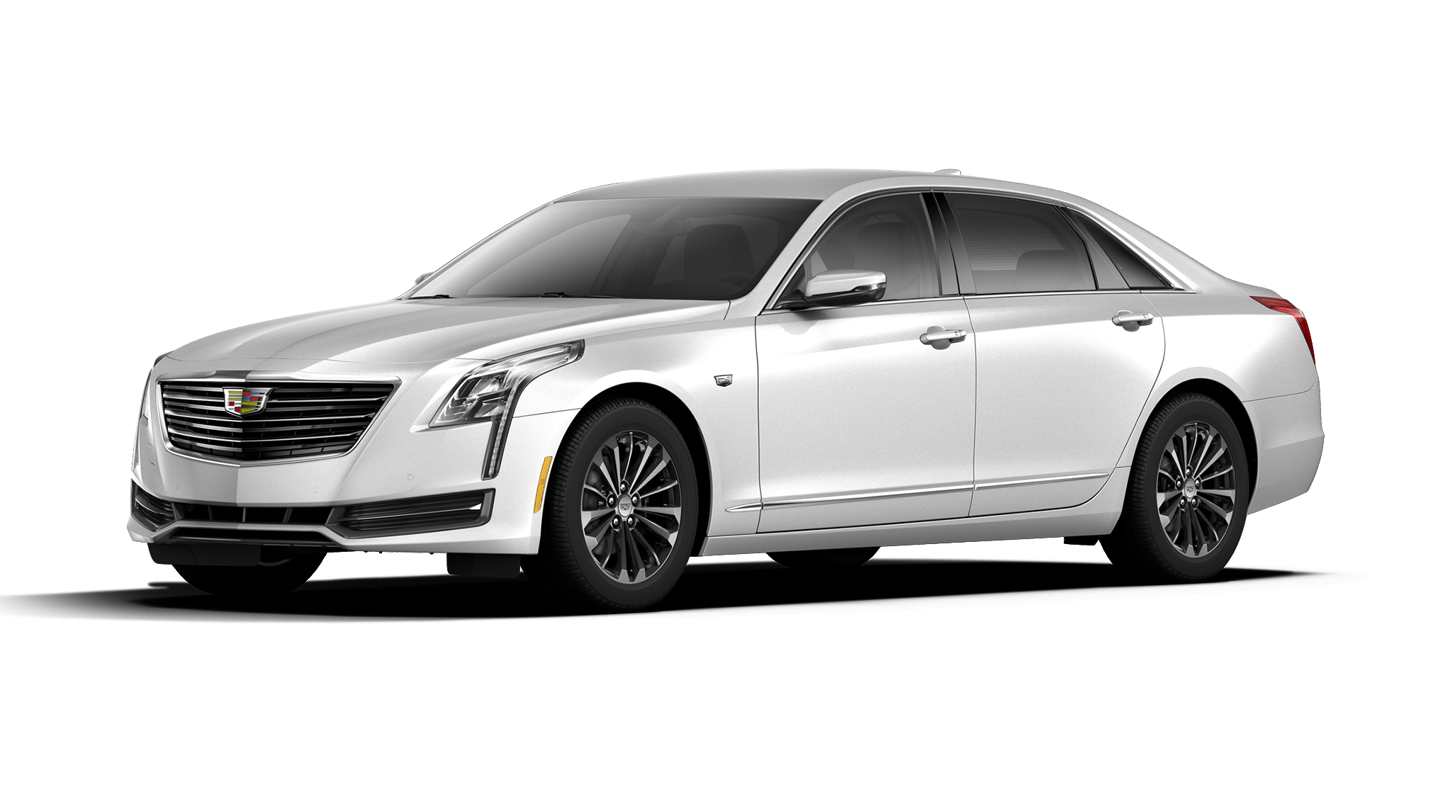 2017 Crystal White Tricoat Cadillac CT6