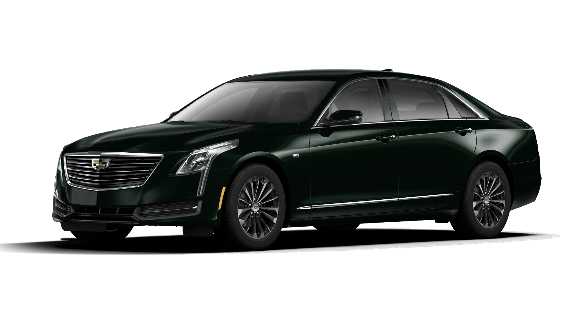 2017 Cadillac CT6 Dark Emerald