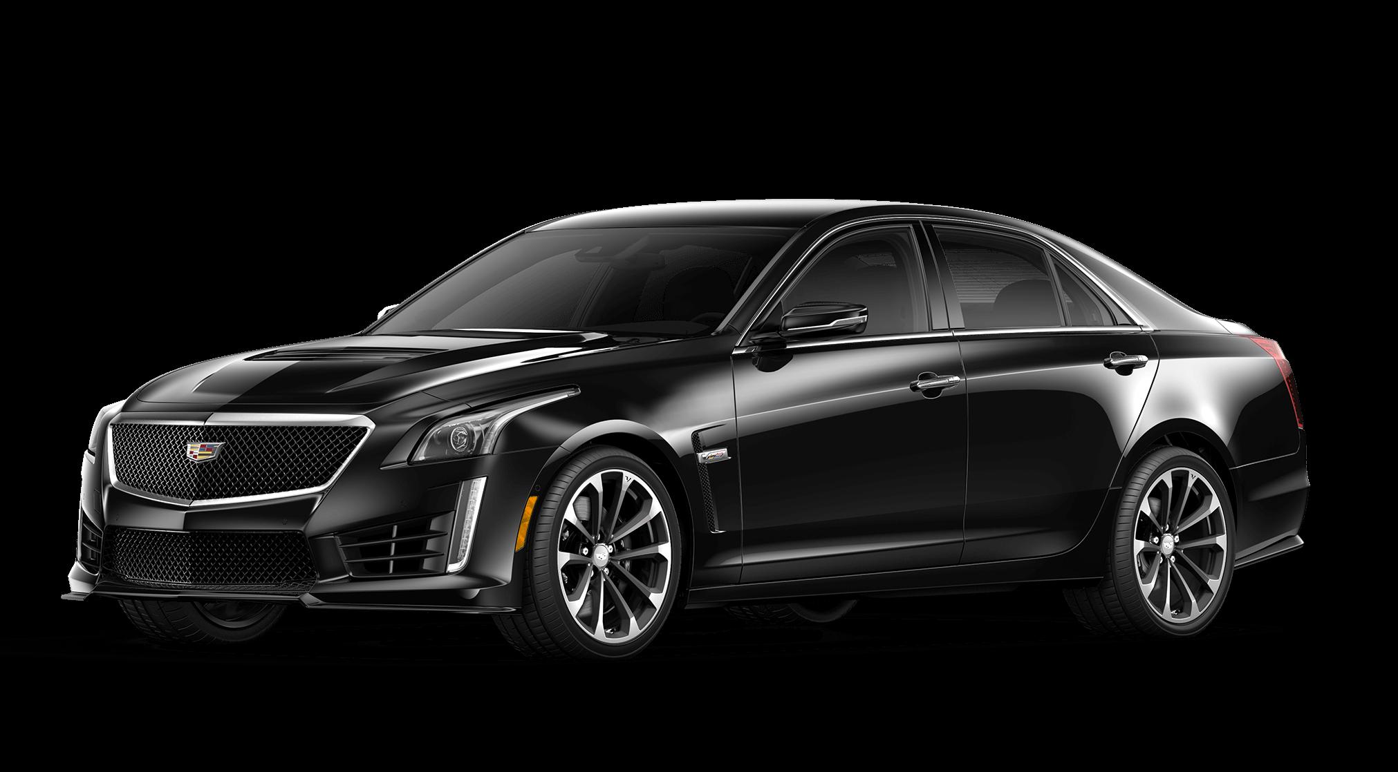 Cadillac CTS-V Black Raven