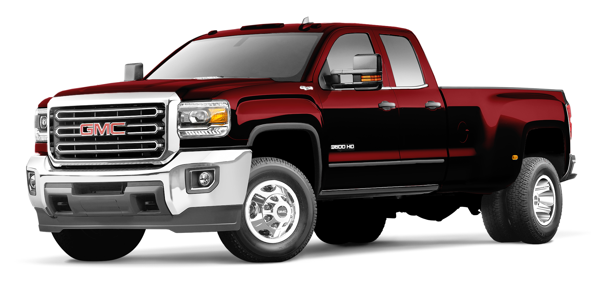 GMC Sierra 3500 HD Crimson