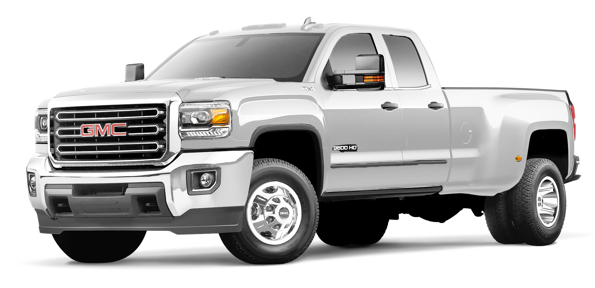 GMC Sierra 3500 HD White