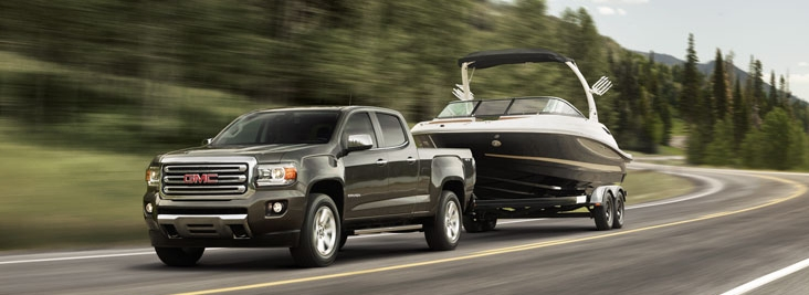 GMC Canyon Towing