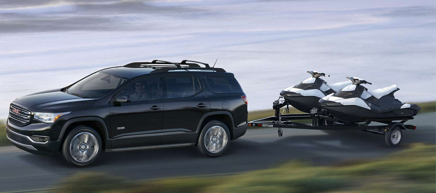 2017 GMC Acadia Towing